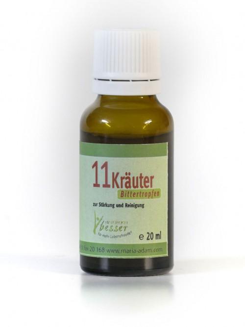 11 Kräuter-Bittertropfen