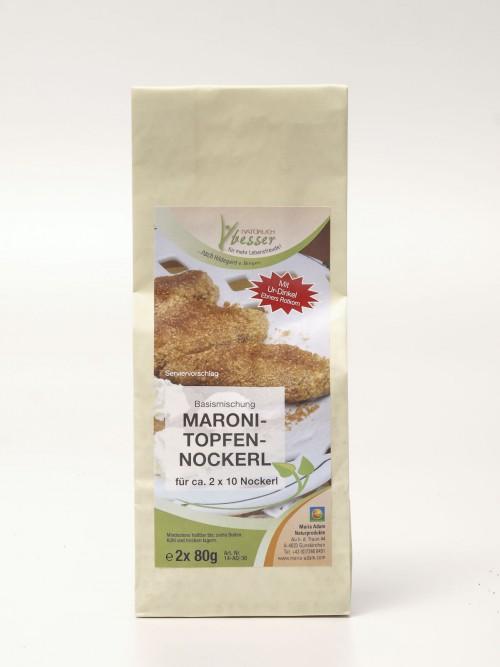Maroni Topfen Nockerl