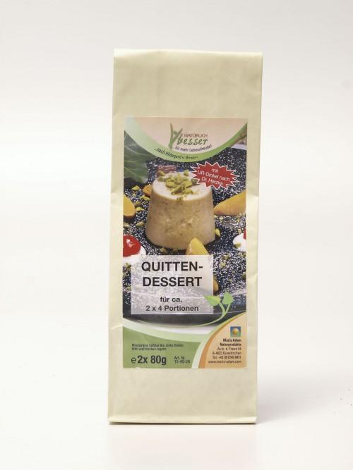 Quitten Dessert