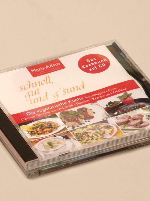 Kochbuch auf CD