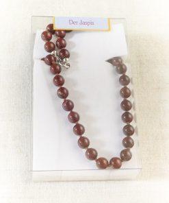 Jaspis Kugelkette