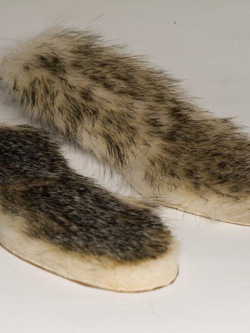 Dachsfell Schuheinlagen