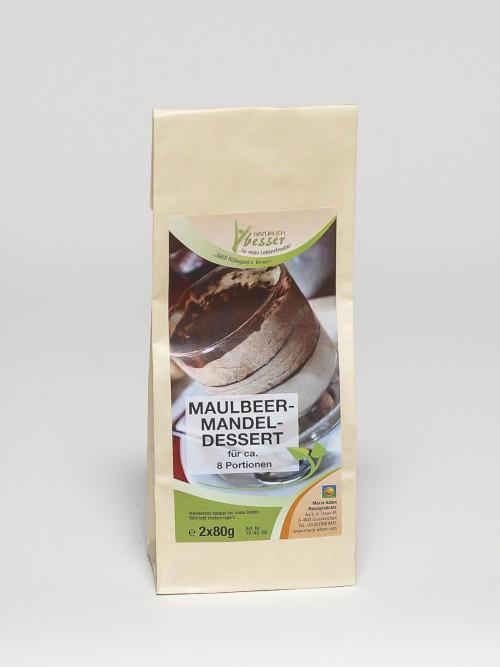 Maulbeer Mandel Dessert