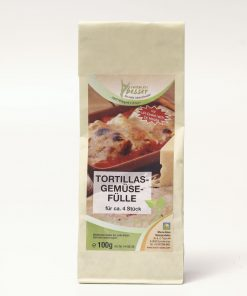 Tortillas Gemüsefülle