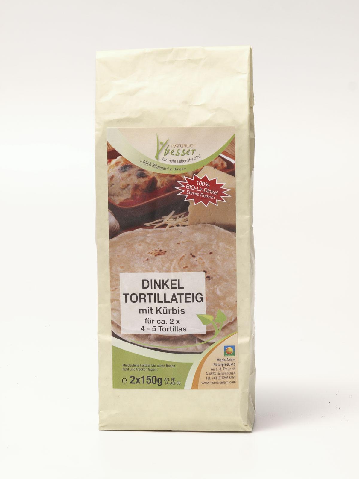 Dinkel Tortillateig