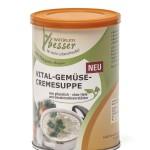 Vital Gemüse Cremesuppe