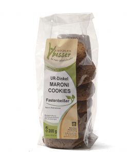 Urdinkel Maroni Cookies