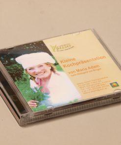 Kleine Kochpräsentation auf CD