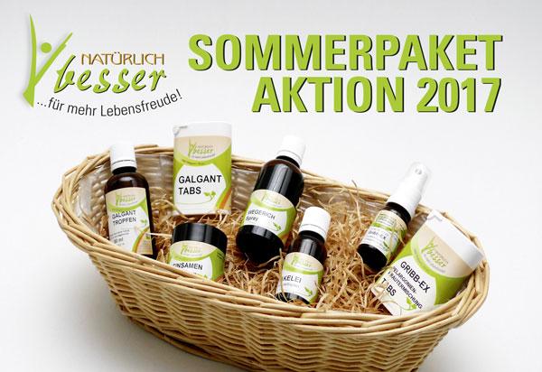 Ein Paket um gesund durch den Sommer zu kommen